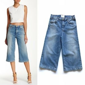 McGuire Bessette Wide Leg  Cropped Jeans 27 :059